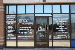 Boulder Custom Office Signs Copy of Chiropractic Office Window Decals 300x200