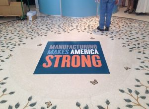 Thornton Sign Company floor vinyl 300x219