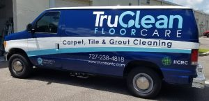 Hygiene Vinyl Printing Vehicle Wrap Tru Clean 300x146