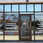 Longmont Window Graphics Copy of Chiropractic Office Window Decals 150x150